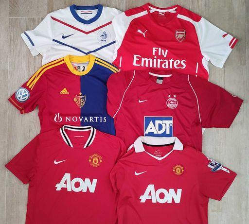 Camisolas futebol clubes estrangeiros
