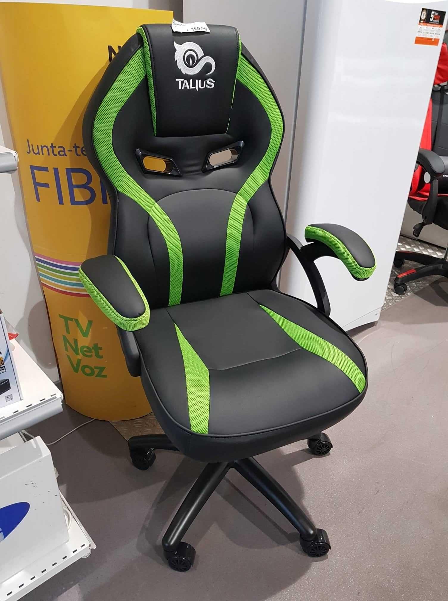 Cadeira Gaming Cobra (Verde)