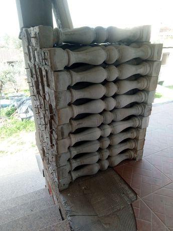 Balustres em cimento