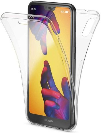 Etui Case Slim 360° Przód + Tył do Huawei P20 Lite