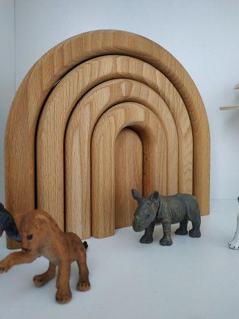 деревянная радуга и дуга