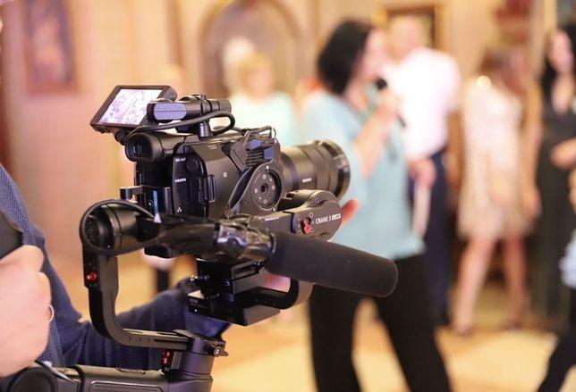 Видеосъемка, съемка свадеб, мероприяти, монтаж.