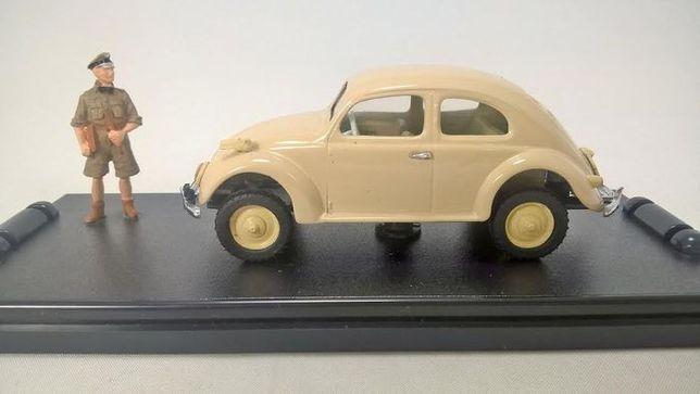 Miniatura Miniminiera 1:43 MM VA014 -VW TYP 82E BEETLE + FIGURE 1/43