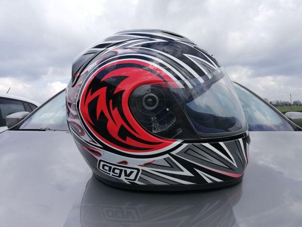 Kask motocyklowy Agv Airtech XL bdb stan, maly przebieg