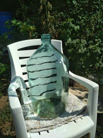 Скляний бутиль 20л
