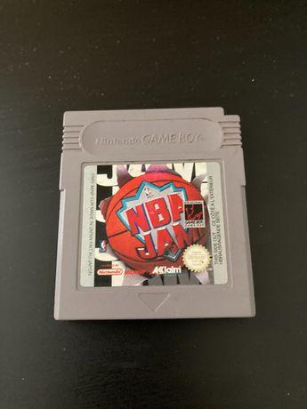 NBA JAM Gameboy Game Boy gra