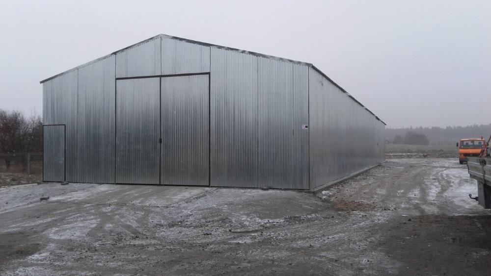 hala blaszana 10 x 35, garaże blaszane, wiaty, profil zamknięty