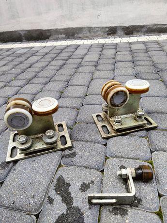 Wózek wózki rolki do bramy przesuwnej 80x80x5