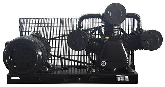 Sprężarka z silnikiem pompa powietrza kompresor 3 Tłoki 90mm 1150l/min