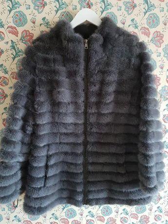 Норковая шуба куртка  46 размер