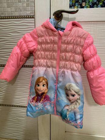 Продам куртку и желетку на девочку