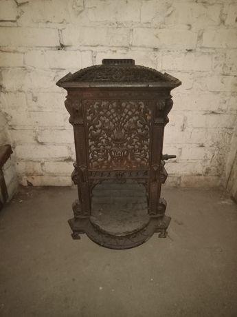 Stary piec żeliwny Loft retro vintage