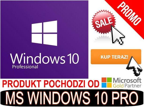 Windows 10 Pro 64-Bit komplet NOWE ORYGINAŁ z dystrybucji