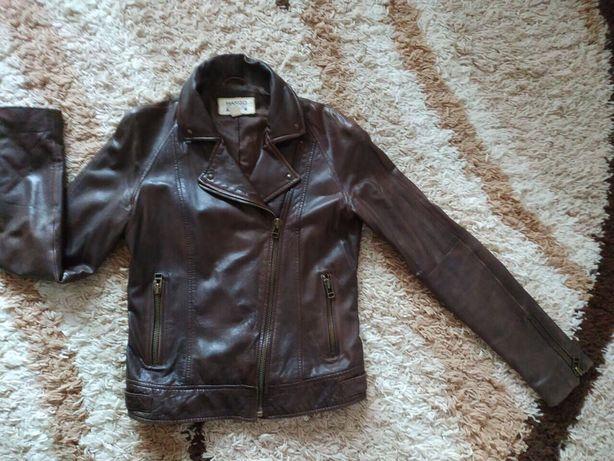Копанная куртка косуха от Mango