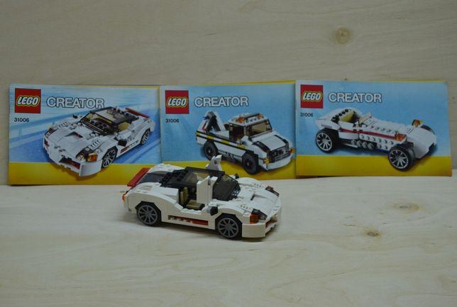 Klocki lego creator 31006 samochód sportowy, wyścigowy