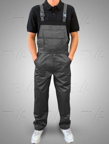 Напівкомбінезон робочий Спецодяг EVA Trade 44-62р Сірий
