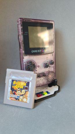 Game Boy Colour Lilás + Jogo Boulder Dash
