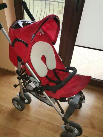Wózek spacerowy czerwony