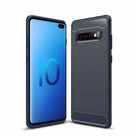 Capa Silicone Lmobile Galaxy S10 Plus - Azul
