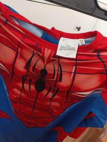 3 częściowy strój przebranie Spiderman rozmiar 110