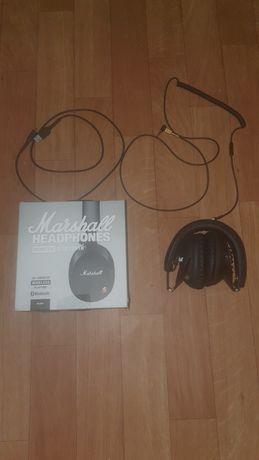 Auscultadores Bluetooth e Cabo Marshall Monitor I