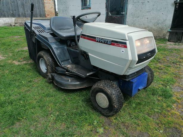 Traktorek Kosiarka MTD WHITE duży Kosz Zadbany