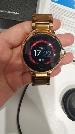 Garett Karen smartwatch damski złoty bransoleta