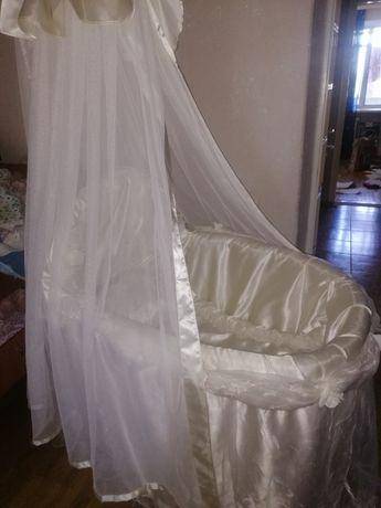 Кроватка люлька с рождения