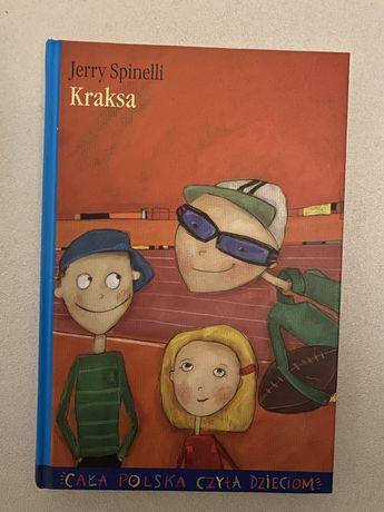 """Kraksa"" Jerry Spinelli, NOWA książka"