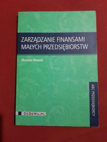 Książka M. Nowak zarządzanie finansami małych przedsiębiorstw