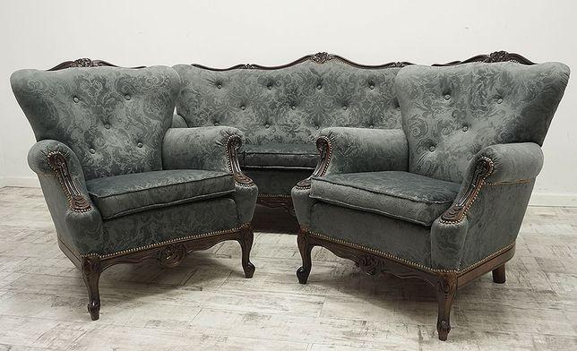Stylowy Wypoczynek w stylu Chippendale. Po Renowacji :)