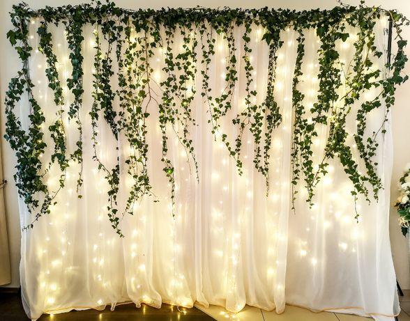 Ścianka do zdjęć, tło, dekoracja weselna
