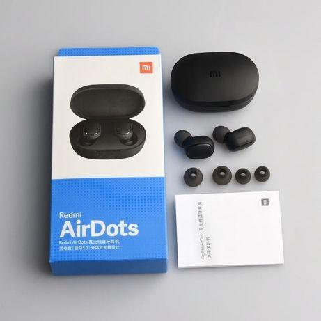 наушники Xiaomi Redmi AirDots, Аірдотс, Новые с гарантией. черные