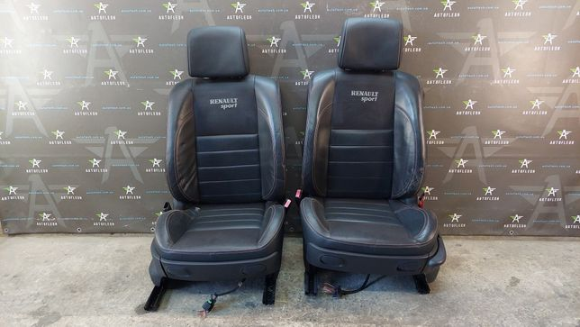 Салон сиденья кожа Renault Megane II RS Sport Мегане 2 Спорт бу