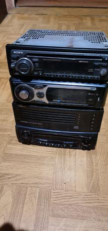 Radia samochodowe Sony Blaupunkt JVC itp usb aux cd