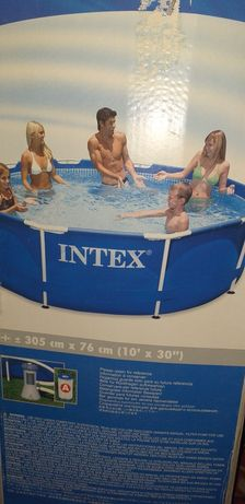 Basen INTEX stelażowy