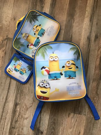 Набор 3в1 Рюкзак сумочка кошелек Disney