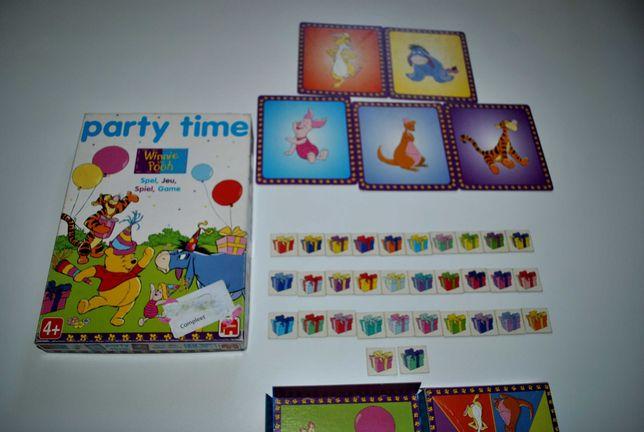 Игра 4+ Винни пух Disney детская настольная для самых маленьких пазл