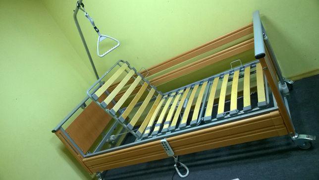 Łóżko rehabilitacyjne, medyczne sterowane pilotem Elbur PB 326