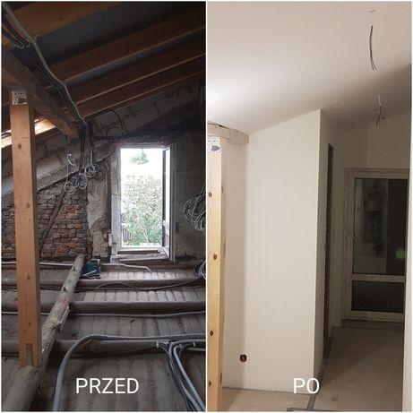 Kompleksowe wykończenia/remonty wnętrz