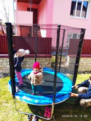 Дитячий БАТУТ з сіткою на 90 кг. Супер якість, Польща! Наложка 100%!