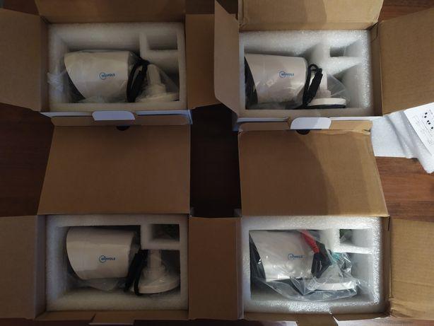 Камеры видеонаблюдения 4 штуки, 5 мегапикселей