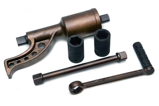 KLUCZ Przekładniowy do kół 4800Nm / 6200Nm + Nasadki 32/33mm