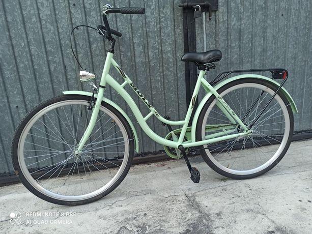 Rower Miejski.Damka Mietowa w stanie Idealnym. Możliwość Transportu