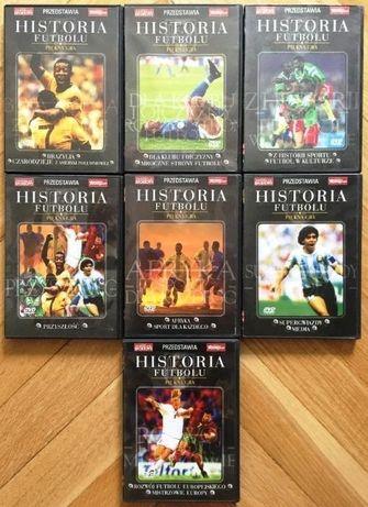 DVD Historia Futbolu Piękna Gra Pełny Komplet 7płyt
