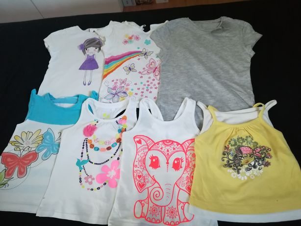 Ubranka dla dziewczynki rozm. 104