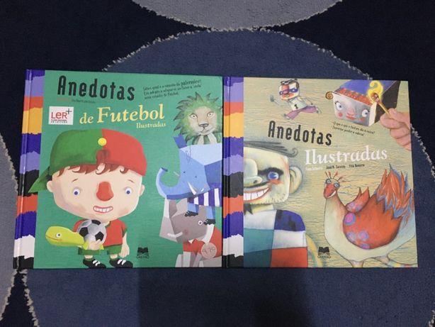 2 livros de anedotas
