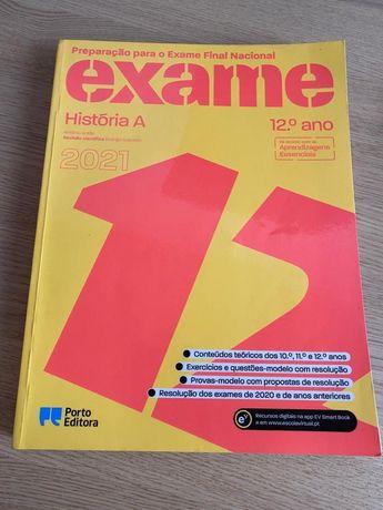 Livro de exame 12 História A