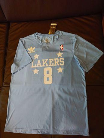 НОВАЯ футболка Adidas NBA Los Angeles Lakers Kobe Bryant Jordan
