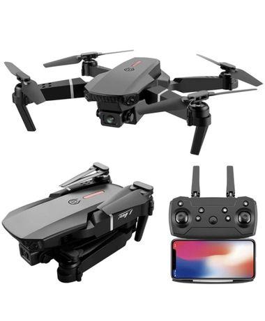 (Novo) Drone E88 PRO 4K + 3 Baterias + Mala de Transporte